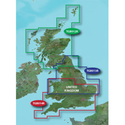 Garmin - TOPO UK Regions - Micro SD カード