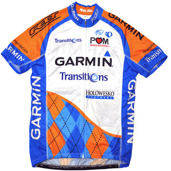 Garmin Transitions Jersey 2010