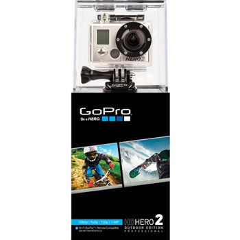 GoPro HD Hero 2 1080p Camera with Outdoor Mount