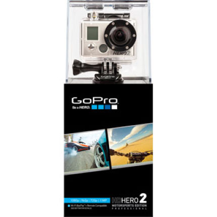 GoPro HD Hero 2 1080p Camera with Motorsport Mount