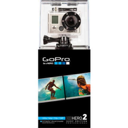 GoPro HD Hero 2 1080p Camera with Surf Mount