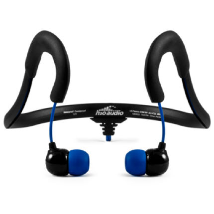 H2O Audio Surge Sportwrap 2G Waterproof Headphones