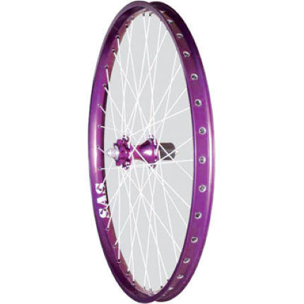 Halo Sas Pro 26 Inch Purple Haze Rear Mtb Wheel Mtb