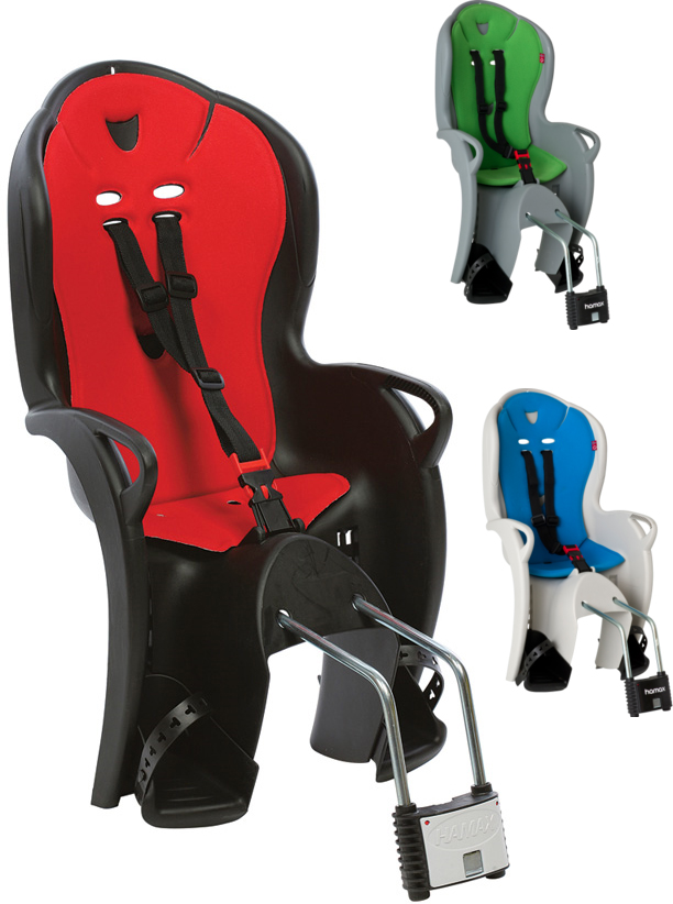 hamax child bike seat fitting instructions