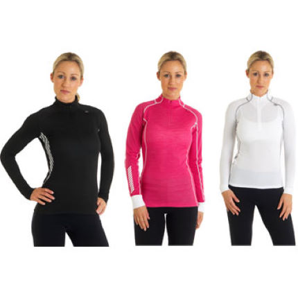 Helly Hansen Ladies Dynamic 1/2 Zip Base Layer