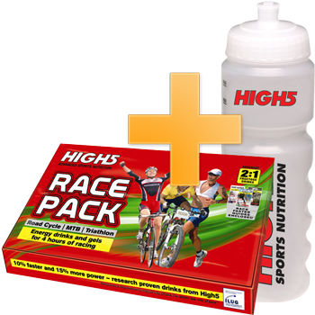 High5 Race Faster Pack - Free 750ml Bottle