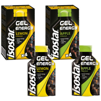 Isostar Total Performance Energy Gel 4 x 35g Sachets