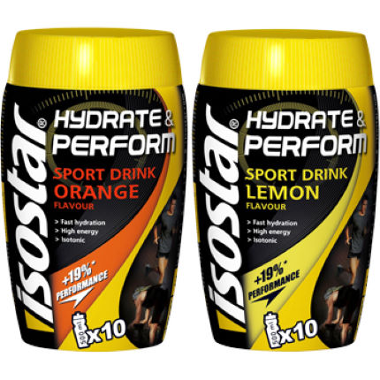 Isostar - Hydrate and Perform Sports Drink Mix - 400g