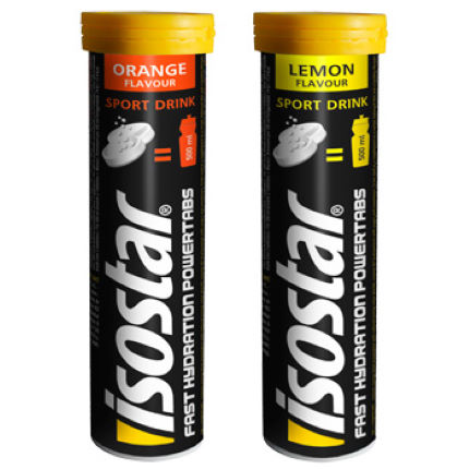 Isostar PowerTabs Tube - 10 x 12g Tabs