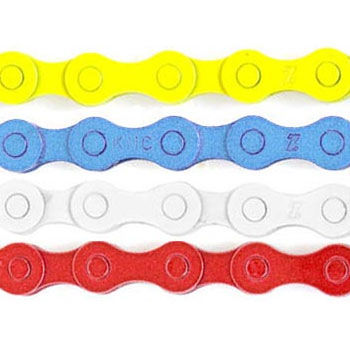 """KMC S1 Coloured 1//8 /"""" BMXChain 112 Links Compatible with Single//3 Speed Bikes"""