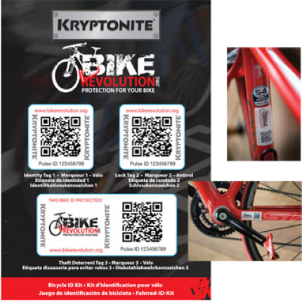Kryptonite Bike Revolution Bike ID Kit