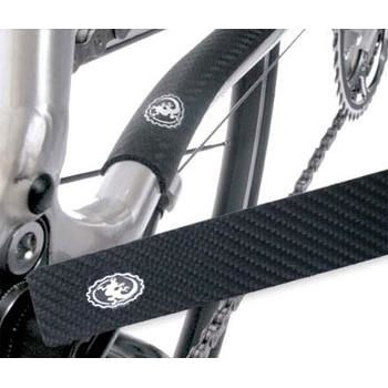 Lizard Skins Carbon Leather Patches With Chainstay Protector