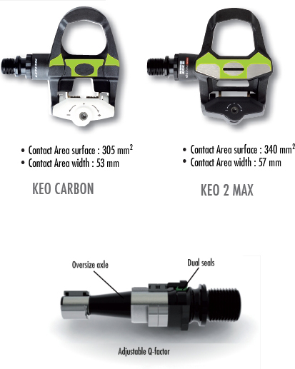 Look Keo 2 Max Pedals