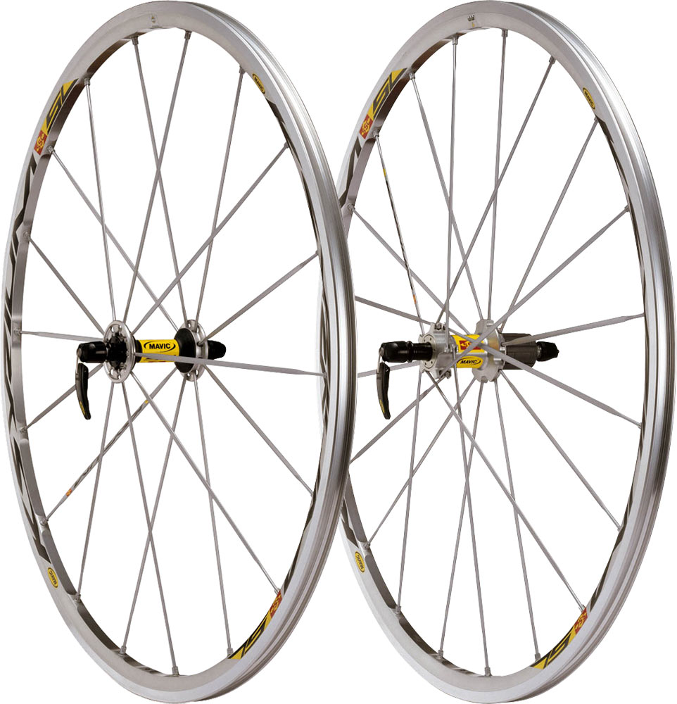 Mavic Ksyrium SL Front Wheel Spokes 285mm Black