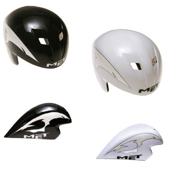 Met Pac VII Aero Time Trial Cycling Helmet - 2011