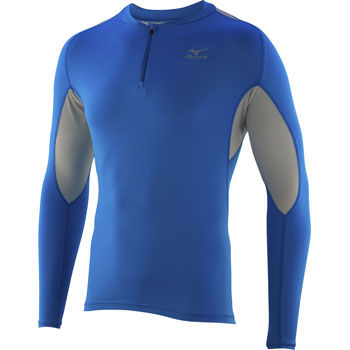 Mizuno Bio Gear Running 1/2 Zip Long Sleeve Shirt aw11