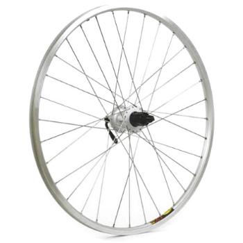 M:Wheel Shimano M475/Mavic XM317 Silver Rear Mtb Wheel