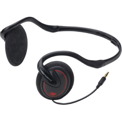 New Balance Foldable Behind-the-Neck Headphones