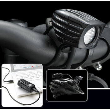 NiteRider MiNewt Mini 300-USB Plus Rechargeable Front Light
