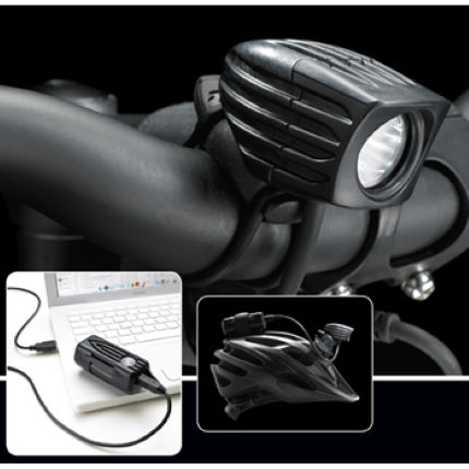 NiteRider MiNewt Mini 300-USB Rechargeable Front Light