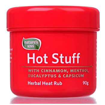 Natures Kiss Hotstuff Sports Rub 90g