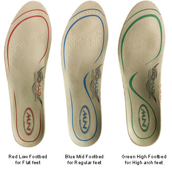 Northwave Cycling Shoe Footbeds (Insoles)