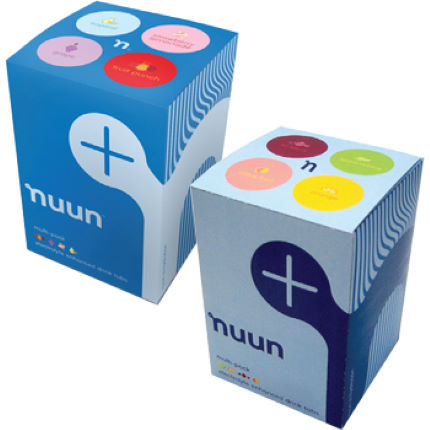 Nuun 4 Tube Variety Pack