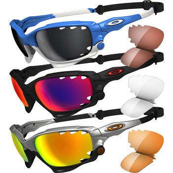 Oakley Racing Jacket Sunglasses - Polarised Lenses