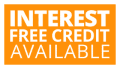 Interest Free Credit Available