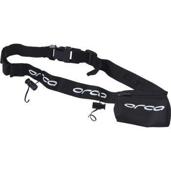 Orca Race Belt with Zip Pocket AW12