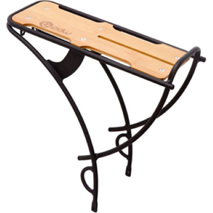 PDW Loading Dock Rear Rack with Bamboo Top