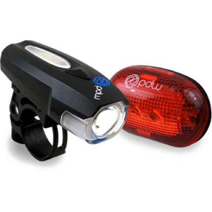 PDW Spaceship Front and Red Planet Rear Light Set