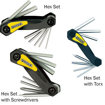 Pedros Folding Hex Set Multi-Tools
