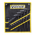 Pedros Pro Hex T/L Wrench Set
