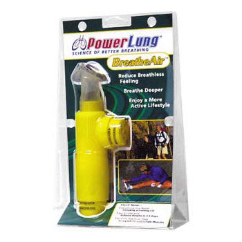 Powerlung Breathe Air Respiratory Trainer