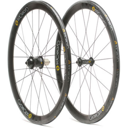 CycleOps Powertap G3 Enve Carbon Tubular 45mm Wheelset