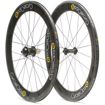 CycleOps Powertap G3 Enve Carbon Tubular 65mm Wheelset