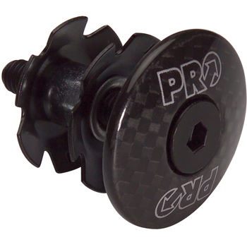 Pro Headset Carbon Cap with Start Nut