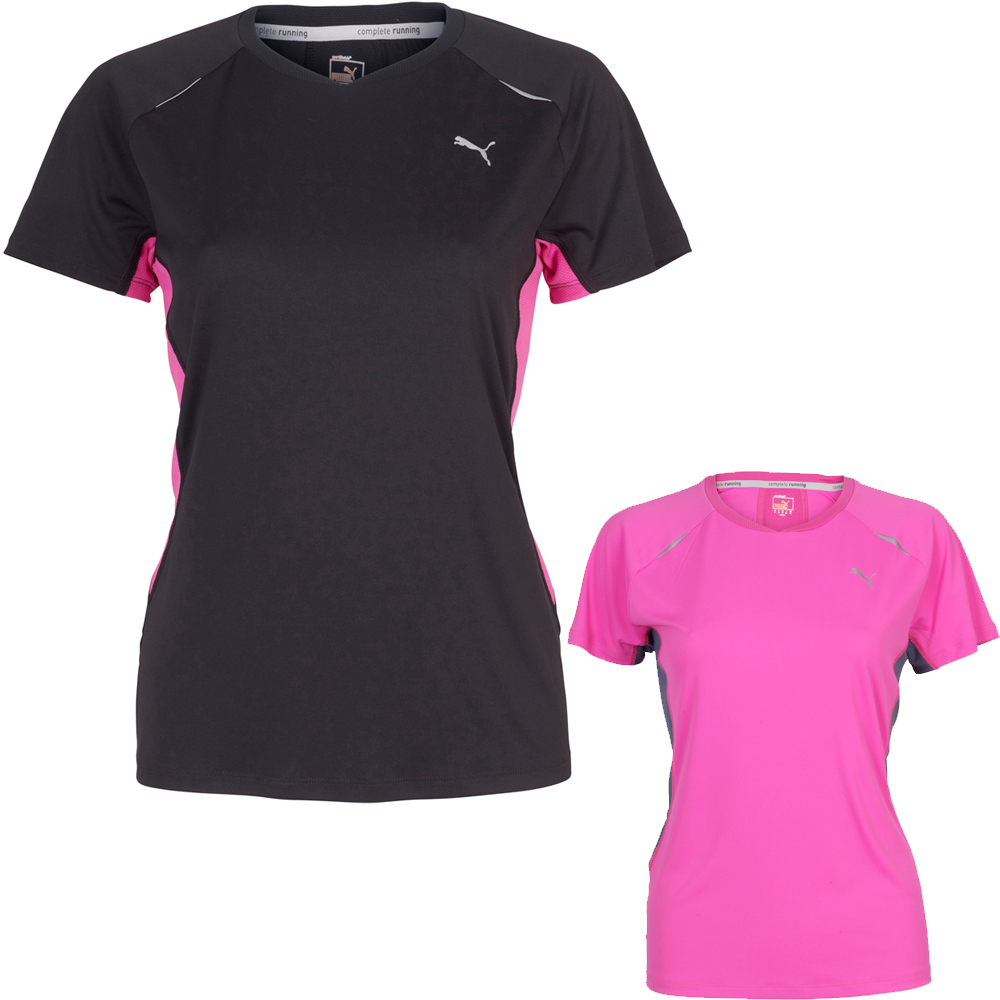 maillots de running manches courtes puma ladies tee ss12 wiggle france. Black Bedroom Furniture Sets. Home Design Ideas