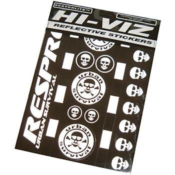 Respro Hi Viz Urban Survival Stickers