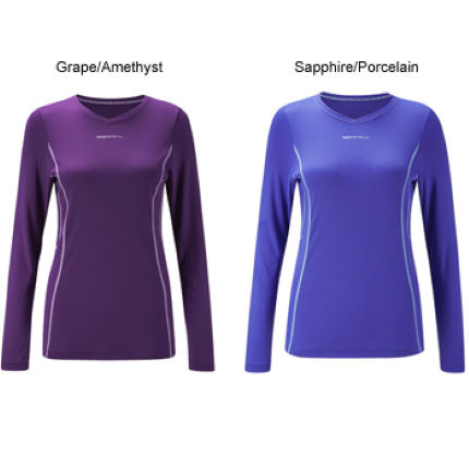 Ronhill Ladies Aspiration Cocoon Long Sleeve Tee AW11