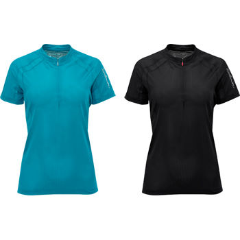 Salomon Ladies Trail Runner II 1/2 Zip Tech Tee AW11