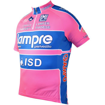 Santini Lampre Team Replica Short Sleeve Jersey