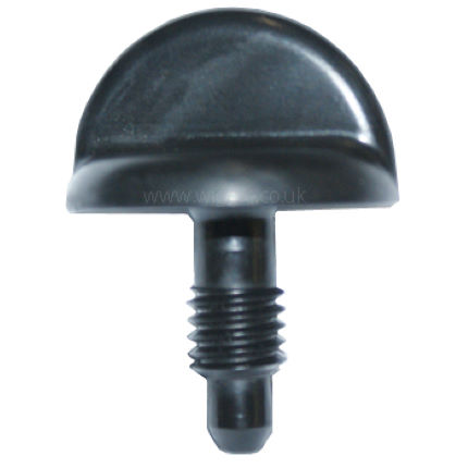 Saris Bones Black Threaded Thumb Screw