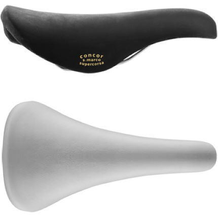 Selle San Marco Concor Saddle with Carbon Steel Rails