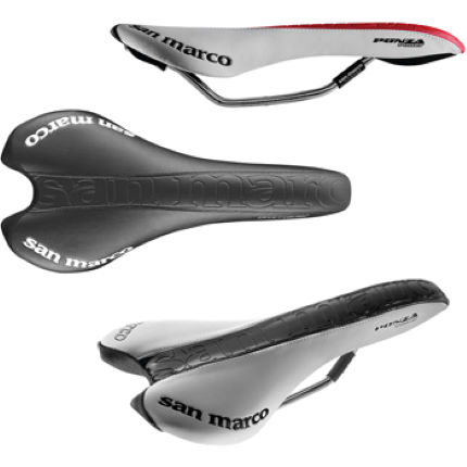 Selle San Marco Ponza Power Saddle with Titanox Rails