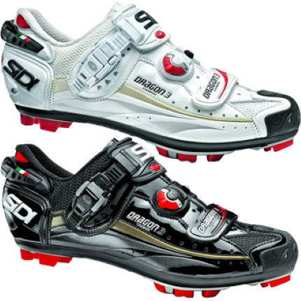 Sidi Dragon 3 Vernice MTB Shoes 2013