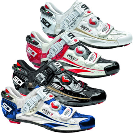 Sidi Ergo 3 Vent Carbon Vernice Road Shoes 2013