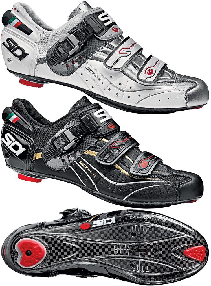 wiggle sidi genius 6 6 carbon lite 2011 road shoes. Black Bedroom Furniture Sets. Home Design Ideas