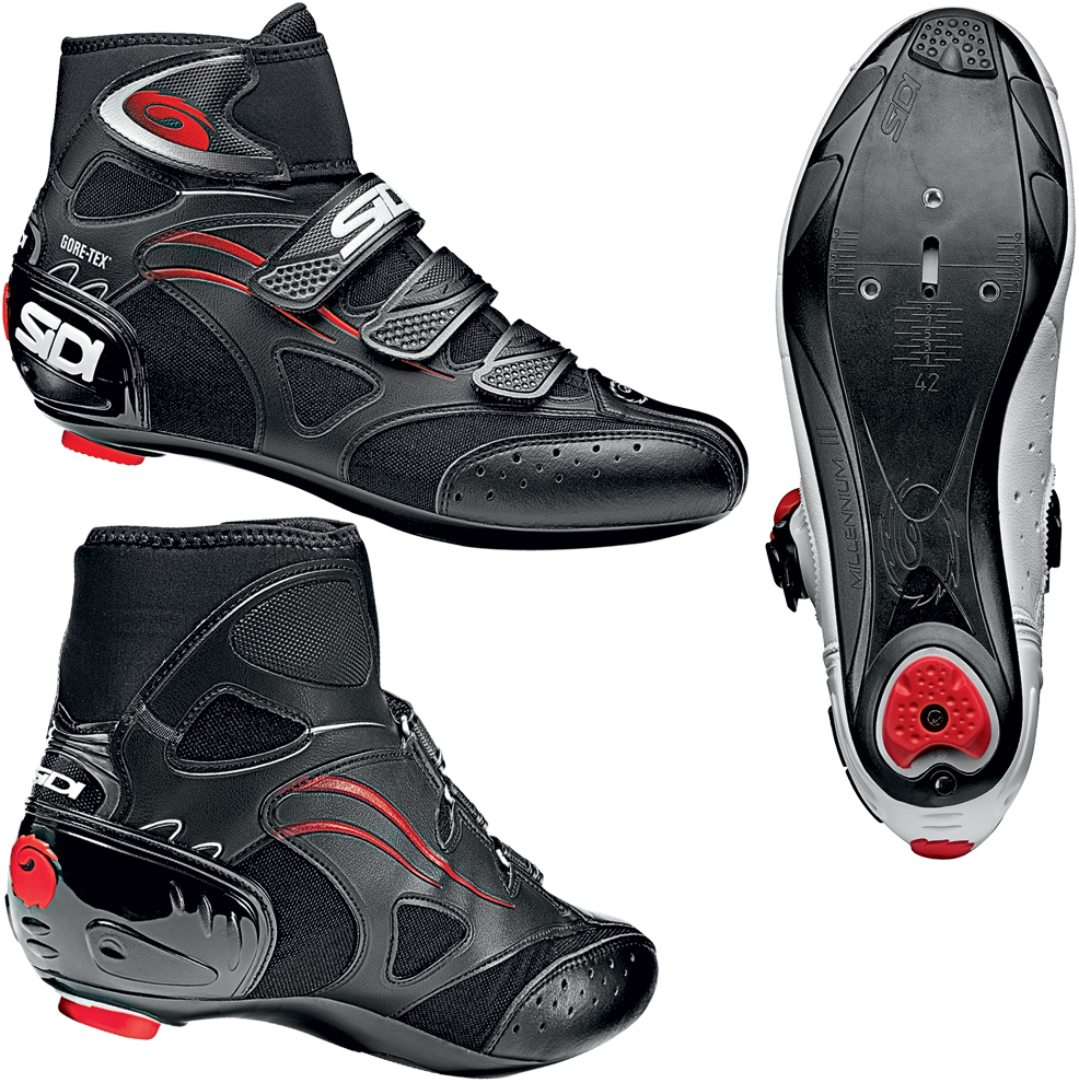chaussures de route sidi hydro gore tex winter road boots 2011 wiggle france. Black Bedroom Furniture Sets. Home Design Ideas